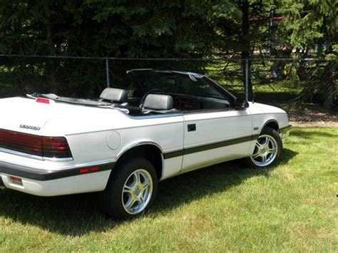 small engine repair training 1994 chrysler lebaron seat position control purchase used 1987 chrysler lebaron base convertible 2 door 2 2l turbo quot prestine condition quot in