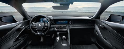 lexus lc interior lexus lc luxury performance coup 233 lexus uk