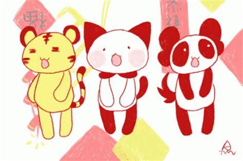 new year monkey gif popular 猴年快乐 gif zhmonkey chinesenewyear