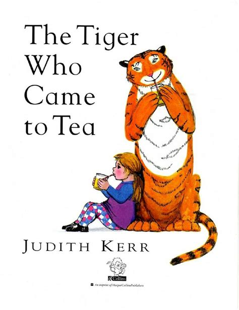 the tiger who came 40 best book the tiger who came to tea images on the tiger story books and tea parties
