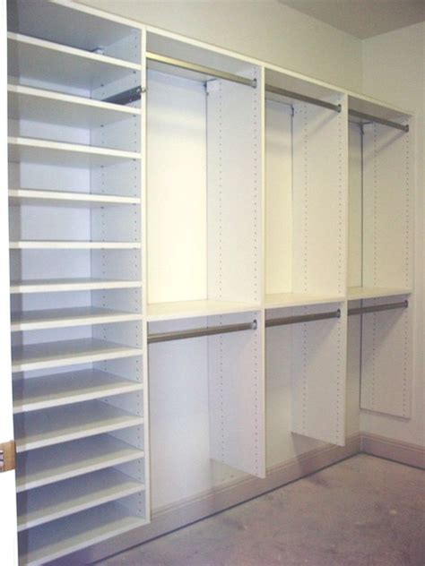 bedroom closet shelving walk in closets traditional closet miami by naples