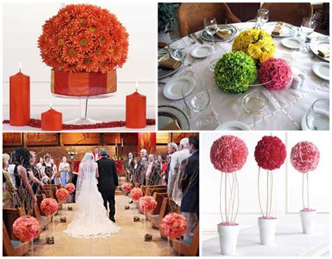como hacer un arreglo de esferas de flores arreglos de flores en esfera para boda