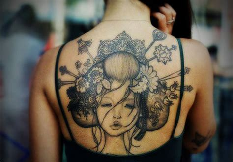 full back tattoos for women beautiful tattoos art
