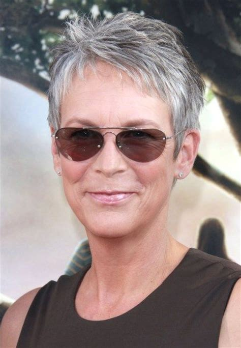jamie lee haircut styles maintenance jamie lee curtis she is my inspiration for graying