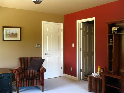 Painting One Wall A Different Color In A Bedroom by Bedroom Paint Two Different Colors Ideas For Painting