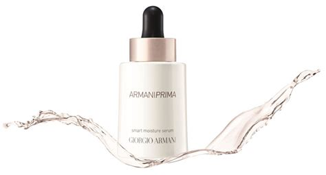 Armani Prima Serum giorgio armani expands its skincare portfolio news