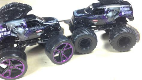 Hotwheels Track Jam wheels jam 2014 mohawk warrior with track ace tires