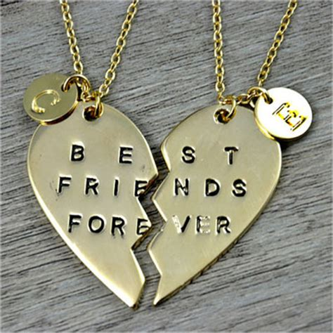 diy best friend necklaces 10 best friends jewelry diy ideas that she will actually like