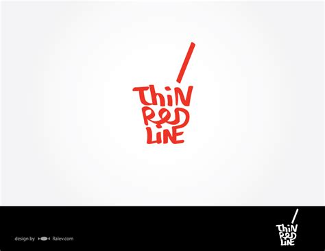 layout para logo thin red line bar logo design ralev com brand design