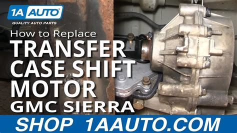 install replace  wheel drive transfer case