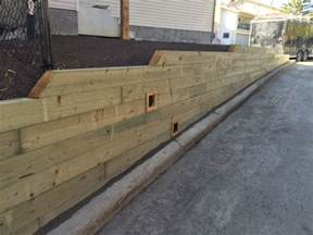 retaining wall a better contractor and landscaper