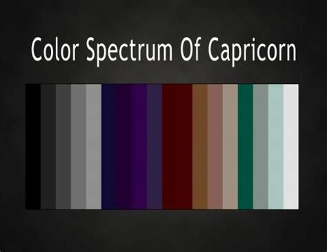colors of the zodiac 8 best images about capricorn on pinterest trees colors
