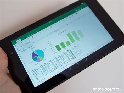 microsoft excel for android microsoft office for android tablets now available in open preview android central