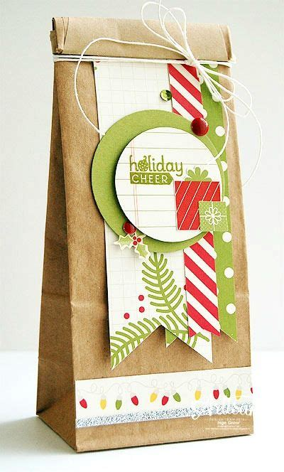 xmas decorated brown paper bags 378 best diy packaging images on wrapping gifts gift boxes and bricolage