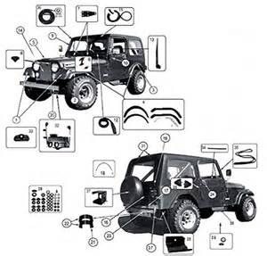 Jeep Cj5 Accessories Cj5 Cj6 Parts