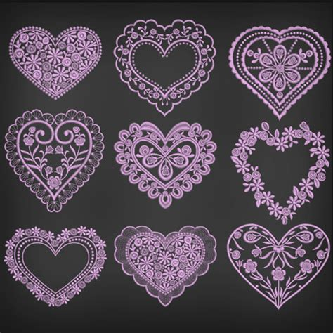 custom pattern brush photoshop free valentine photoshop brushes patterns and custom