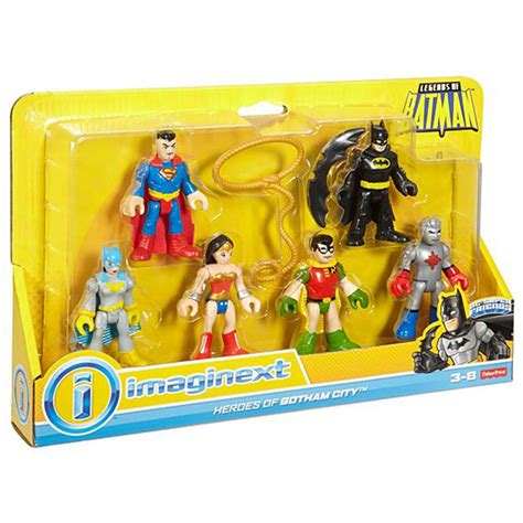 imaginext dc friends legends of batman figure pack