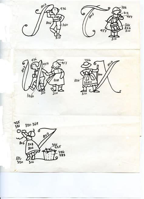 Exemple De Lettre Je Soussigné 1000 id 233 es sur le th 232 me lettres de broderie sur