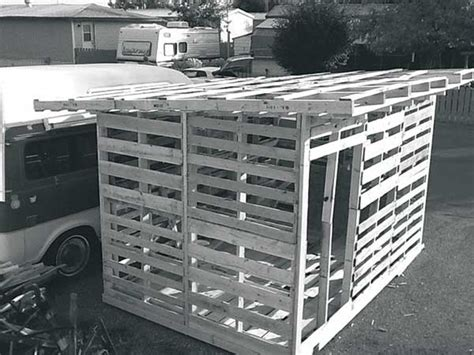 plans to build 10 free plans to build a shed from recycle pallet the