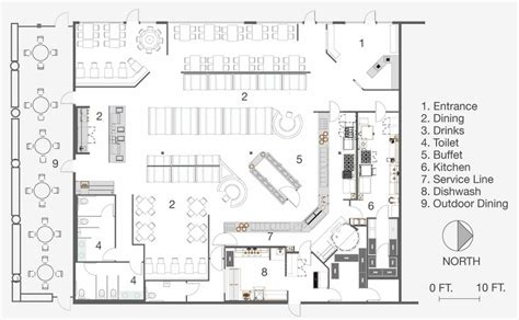 restaurant floor plan pdf modern simple restaurant floor plan simple lay out plan
