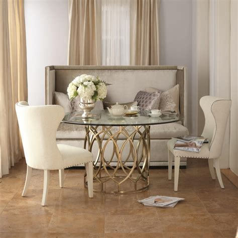 dining room with bench furniture cream upholstered bench with tufted back using