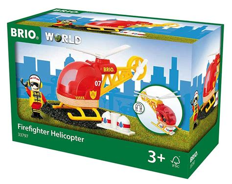 brio helicopter new 33797 brio rescue helicopter wooden railway rolling