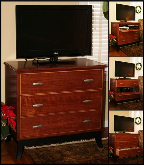 Tv Chest With Drawers by Cherry Tv Stand Chest Of Quot Drawers Quot By Nx1992