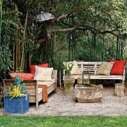outdoor rooms on a budget 39 laid back lounger 39 budget wise ways to create