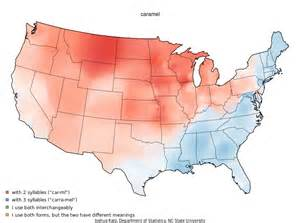 map us dialects dialect maps of the united states brainiac