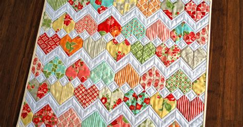 zig zag heart quilt pattern hope s quilt designs how it all began zigzag love