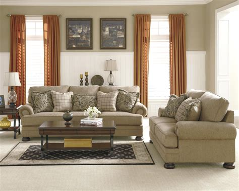 royal living room furniture signature design by keereel sand stationary living room royal furniture