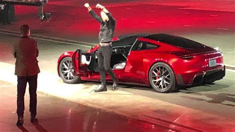 tesla roadster price elon musk shocks with new tesla roadster