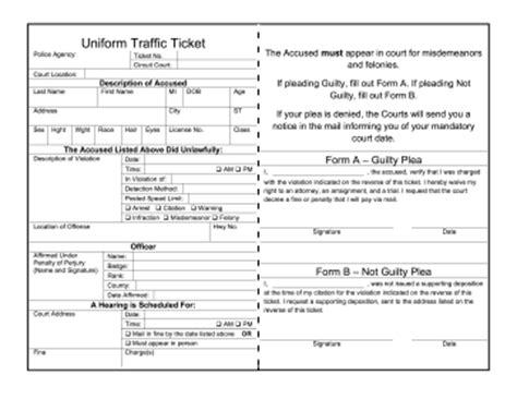 blank speeding ticket template blank traffic ticket forms pictures to pin on pinsdaddy