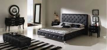 15 cool black bedroom furniture sets for bold feeling