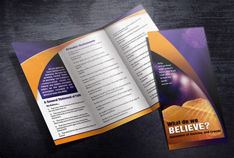 Church Brochure Design by Cfm Flyers Classic Designs For Churches Bringing
