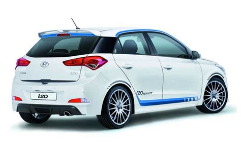hyundai sports car price hyundai i20 sport with turbo engine launched in germany