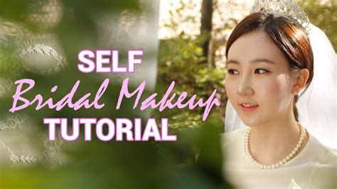 Korean Wedding Makeup Tutorial | korean wedding makeup self bridal makeup tutorial