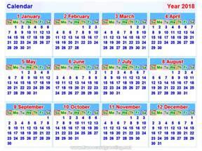 Brunei Calendario 2018 Calendar2018