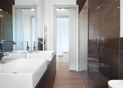 doors for small spaces uk eclisse pocket doors for bathrooms a small bathroom or
