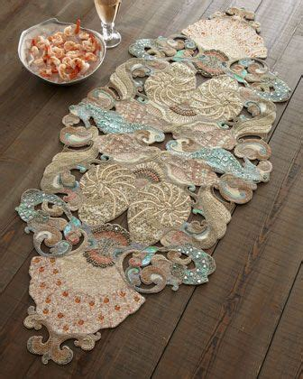 fancy beaded table runners seybert quot oceania quot table runner coordinating table