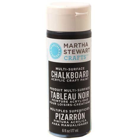 martha stewart crafts 6 oz black multi surface chalkboard