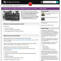 Records Before 1919 Genealogy Resources Pearltrees