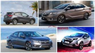 new car in india upcoming new honda cars in india in 2016 2017
