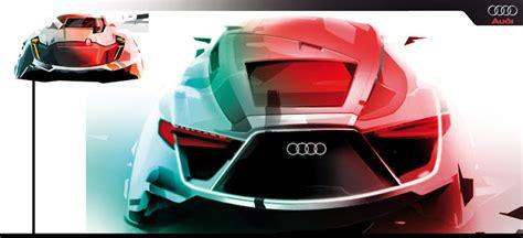 Internship Audi by Kevin Nougarede Car Design