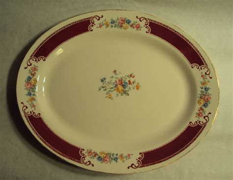 classic china patterns vintage homer laughlin china brittany majestic oval serving