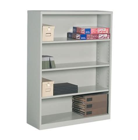 4 shelf metal bookcase office furniture toronto gta