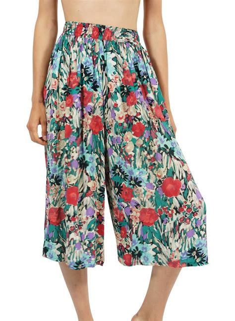 Vintage Denim Cullotes vintage skirts culottes rerags vintage clothing wholesale