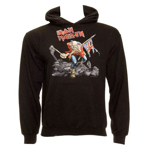 Hoodie Iron 2 Cloth official iron maiden unisex black trooper hoodie all sizes