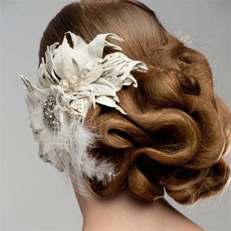 Hochsteckfrisuren Romantisch Geflochten Hochzeit by Brautfrisuren F 252 R Langes Haar Romantische Styling Ideen