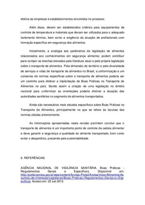 Boa Mba Program by Tcc Mba Boas Pr 193 Ticas No Transporte De Alimentos